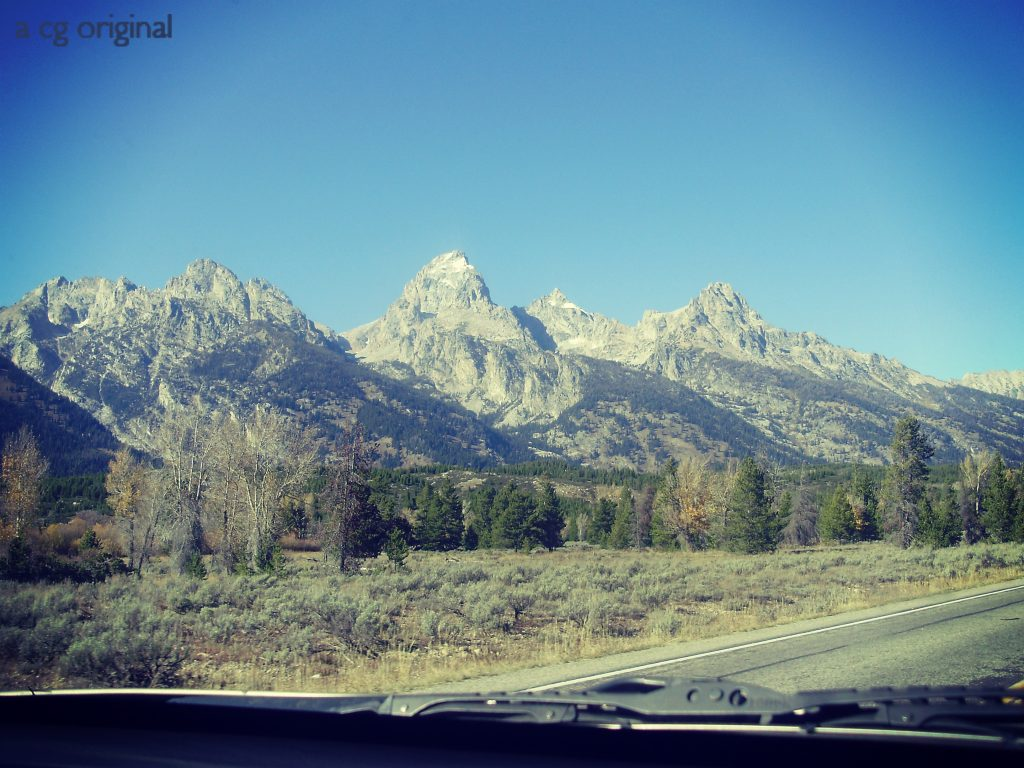 the grand tetons in jackson hole, wy