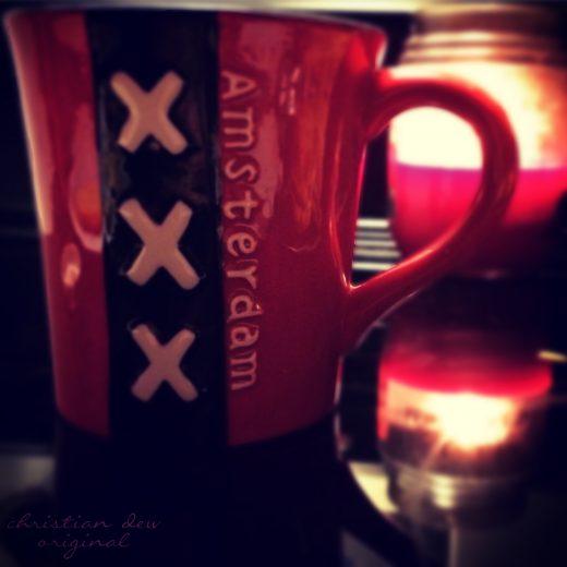 Mug that says Amsterdam