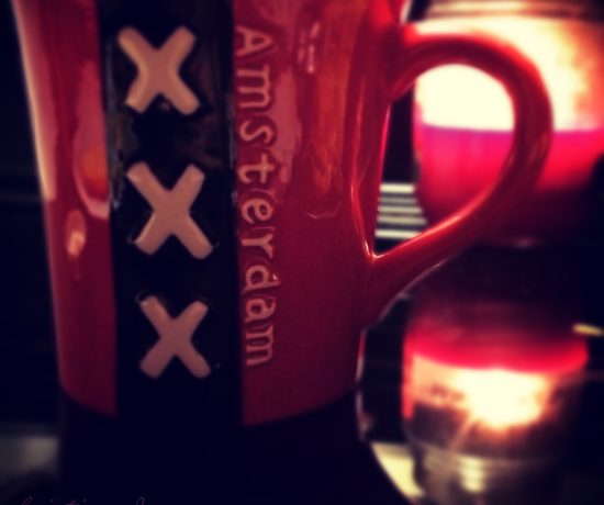 Mug that says Amsterdam