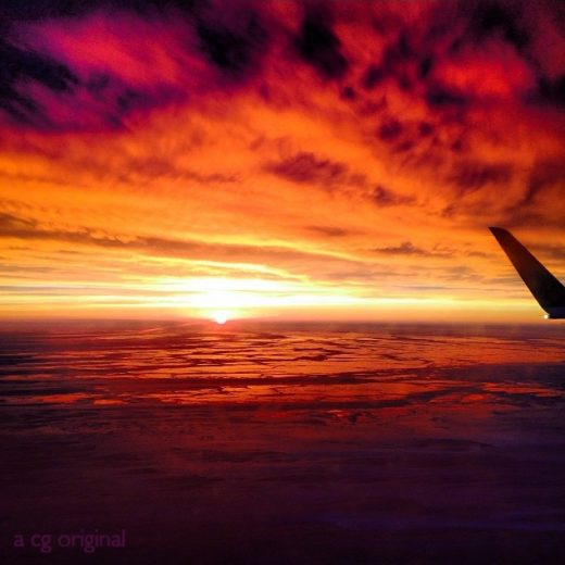 Contented Gypsy| Winter Sunrise from New York to Chicago