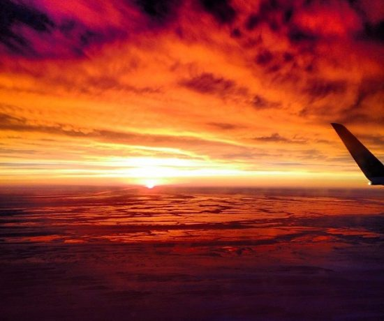 Contented Gypsy  Winter Sunrise from New York to Chicago