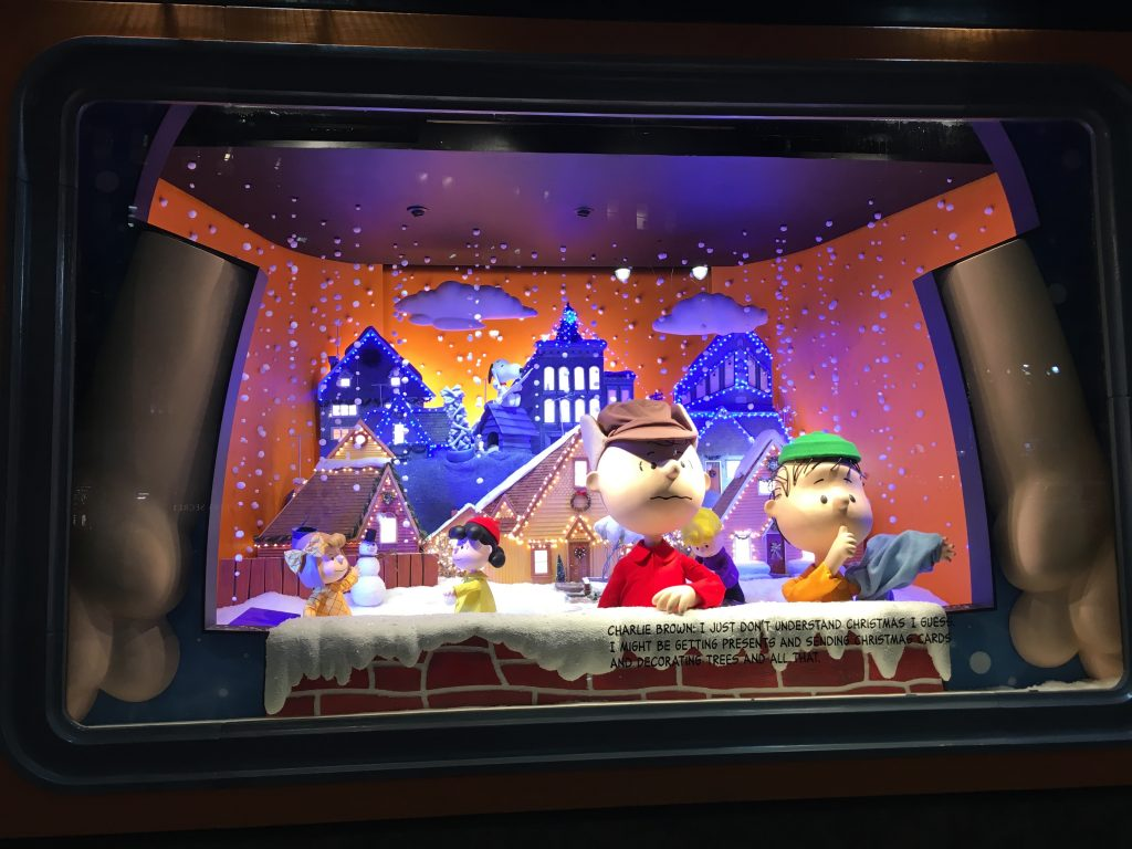 Contented Gypsy | Macy's Charlie Brown Christmas Windows