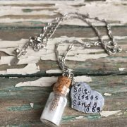 Contented Gypsy | Salty Kisses Sandy Toes Beach Necklace