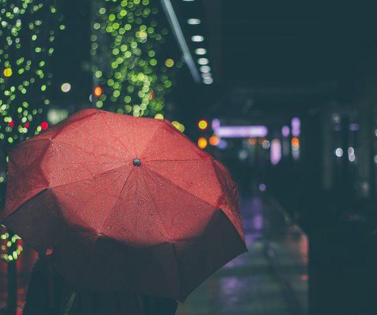 Contented Gypsy | Red Umbrella
